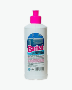 Чистящее средство Гель БАРХАТ для ухода за сантехникой