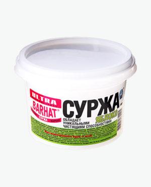 Чистящее средство Паста УЛЬТРА БАРХАТ СУРЖА Яблоко для чистки и дезинфекции сантехники