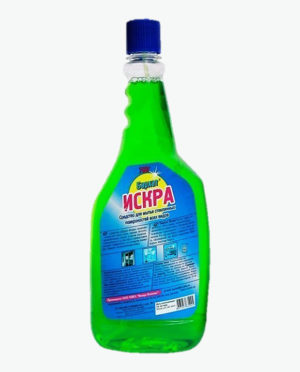 Средство для мытья стекол БАРХАТ ИСКРА сменный блок