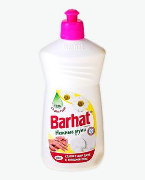 Средство для мытья посуды БАРХАТ Нежные руки Ромашка