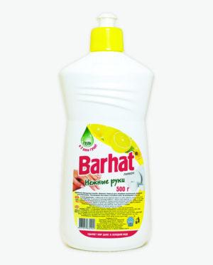 Средство для мытья посуды БАРХАТ Нежные руки Лимон