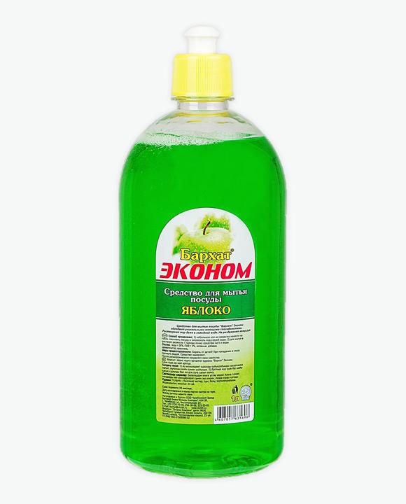 Средство для мытья посуды БАРХАТ ЭКОНОМ Яблоко