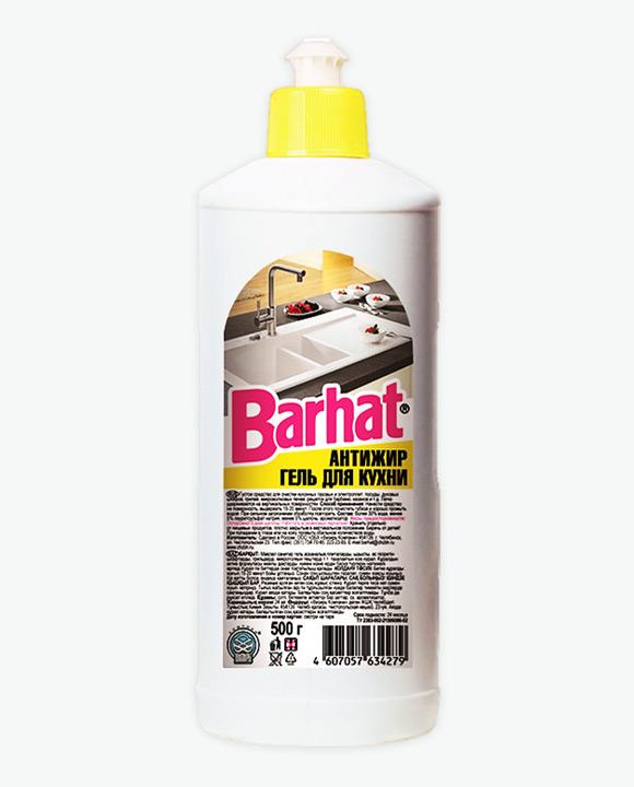Чистящее средство Гель БАРХАТ для ухода за кухней