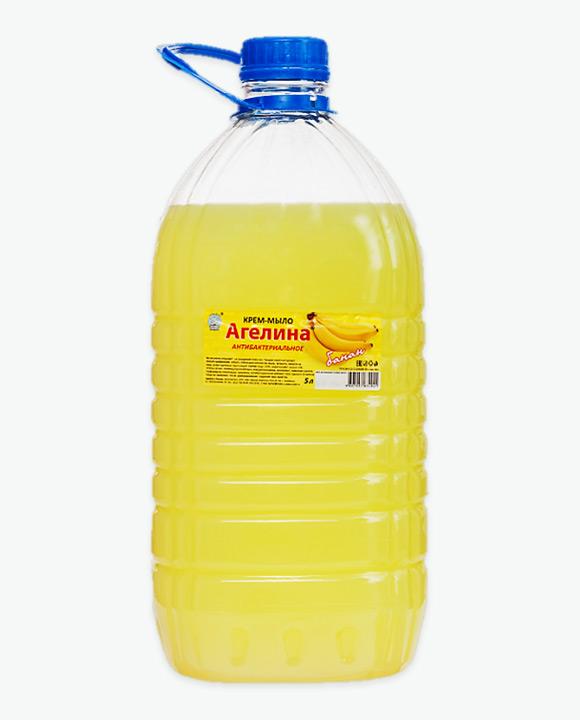 Крем-мыло антибактериальное БАРХАТ Банан