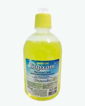 Мыло жидкое антибактериальное БАРХАТ Ромашка