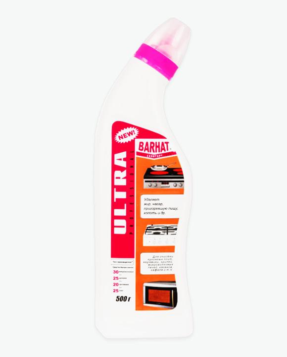 Чистящее средство Гель УЛЬТРА БАРХАТ САНИТАР для чистки плит, микроволновок, духовок, грилей