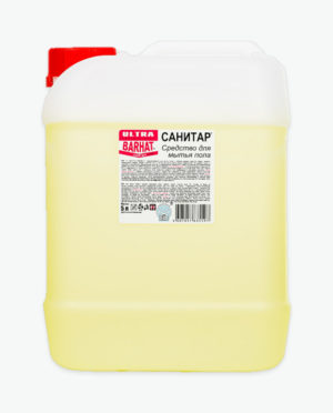 Моющее средство для мытья пола УЛЬТРА БАРХАТ Санитар