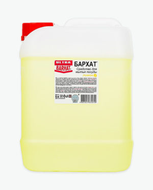 Средство для мытья посуды УЛЬТРА БАРХАТ Лимон