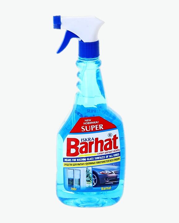 Средство для мытья стекол СУПЕР БАРХАТ ИСКРА