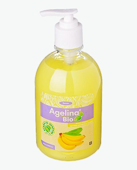 Мыло жидкое антибактериальное АГЕЛИНА БИО Банан