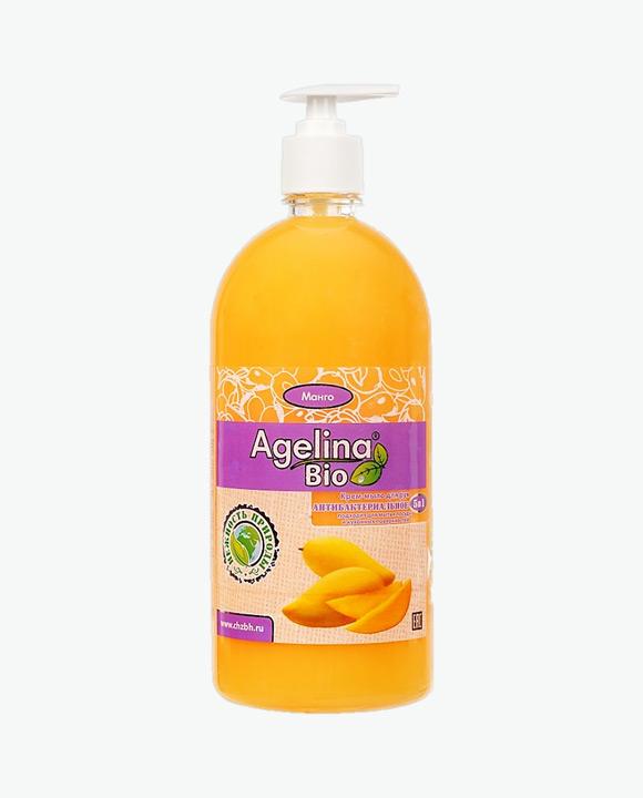 Мыло жидкое антибактериальное АГЕЛИНА БИО 5 В 1 Манго