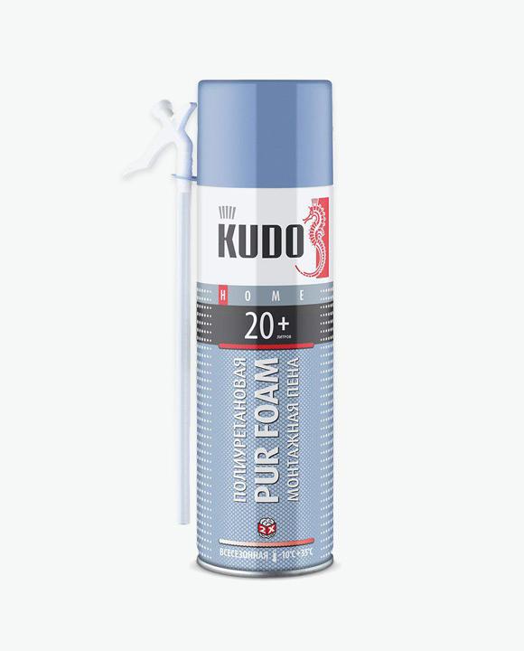 Пена монтажная бытовая всесезонная HOME 20+ KUPH06U20+
