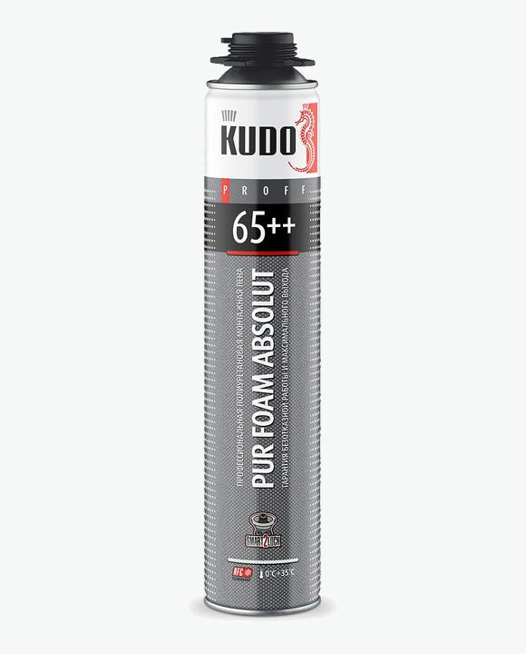 Пена монтажная профессиональная летняя PROFF 65++ KUPP10S65++